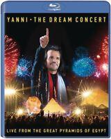 YANNI - THE DREAM CONCERT:LIVE F.T.GREAT PYRAMIDS OF EGYPT   BLU-RAY NEU