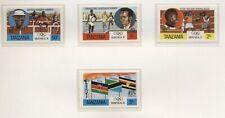 Tanzania 1976 olimpiadi di Montreal serie cpl e BF nuova integra MNH T615