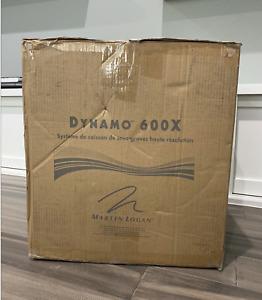 """MartinLogan - DYNAMO 10"""" 120W Powered Subwoofer DYN600XD Black + NEW"""