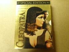 3-DISC SPECIAL ED. DVD BOX / CLEOPATRA ( ELIZABETH TAYLOR, RICHARD BURTON... )