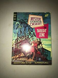 Gold Key Mystery Comics Digest #15 January 1974 Twilight Zone