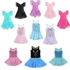 Girls Kid Ballet Tutu Leotard Dance Dress Ballerina Dancewear Fairy Costume