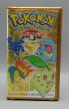Pokemon The Johto Journeys A Brand New World VHS Pioneer Movie Yellox Box