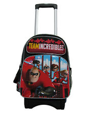"""A14241 Incredibles 2 Large Custom Rolling Backpack 16"""" x 12"""" x 5"""""""