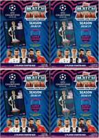 (4) 2018-19 Topps UEFA Champions League Soccer Match Attax Game STARTER BOX LOT