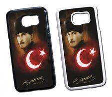 Samsung Galaxy Atatürk Türkiye 2 Hard Tasche Flip Hülle Case Cover Schutz Handy