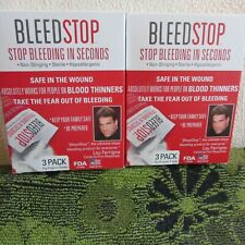 2 New Boxes (6) Bleed Stop Medical Supplies. For Home, Shop, Camping, Hiking