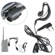 Mic Headset Earpiece Earphone 2 Pin for Baofeng Walkie Takie Radio UV 5R BF 888s