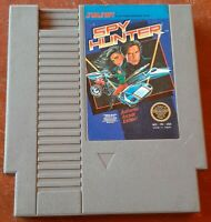 NES Nintendo Spy Hunter 5 screw loose game cart clean & tested, authentic