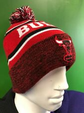 WH271 NBA Chicago Bulls New Era Woolly Bobble Hat OSFA