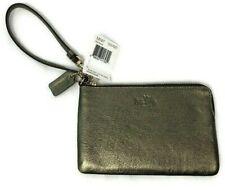 Coach Boxed Small Wristlet Glitter Star Print Gold F22705 F