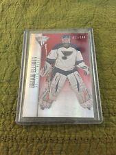 13/14 Panini Titanium RED Brian Elliott Hockey Card #10 91/100 Mint.