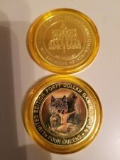 WOLF II 2020 FOUR QUEENS $40 YELLOW Cap Silver Strike .999 Silver WOLF