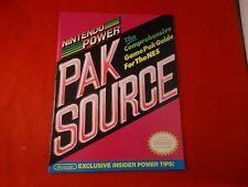OFFICIAL Nintendo Power NES Pak Source Guide Book #B1
