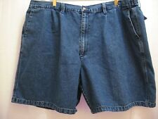 """Windham Pointe Men's Blue Jean Pleated Front Shorts Size 48""""W x 7.5""""L"""