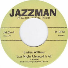 """Esther Williams - Last night changed it all / Tommie Young Hit and Run Lover 7"""""""