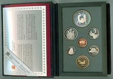1988 CANADA Double Dollar Proof Set w / IRONWORKS SILVER DOLLAR