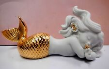 Mermaid Day Dreaming At Sea (Golden Re-Deco) By Lladro 8560