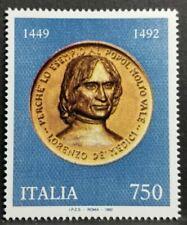 1992 ITALIA LORENZO DE MEDICI MNH** RI