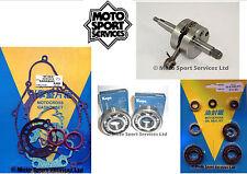 KX 65 2000-2005 Mitaka Bottom End Engine Rebuild Kit Crank Mains Gasket Seal