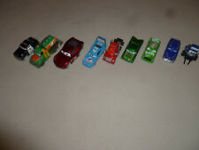 DISNEY PIXAR CARS LOT NO 86 CHICK HICKS HUDSON HORNET RAMONE SHERIFF MERCURY >>>