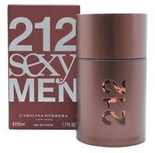 CAROLINA HERRERA 212 SEXY  MEN EAU DE TOILETTE EDT 50ML SPRAY - MEN'S FOR HIM