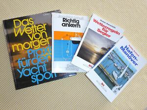 Segel, Yachtsport Fachbücher, Ankern,Wetter,Hafenmanöver alle DELIUS KLASING Top