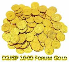 D2JSP | 1000 FG | Forum Gold | Fast Delivery
