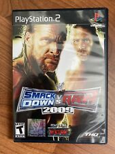 WWE SmackDown vs. Raw 2009 Featuring ECW (Sony PlayStation 2 2008) ps2 Complete