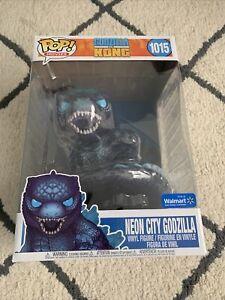 """Funko POP! Movies """"Godzilla vs. Kong"""" Neon City Godzilla #1015 (Walmart) [10""""]"""