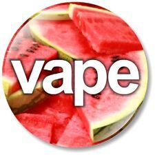 1 x Vape 32mm BUTTON PIN BADGE Watermelon Vaper Accessory Pen Mod Ecig Stick