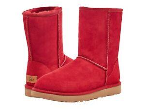 Women's Shoes UGG CLASSIC SHORT II Mid-Calf Sheepskin Boots 1016223 KISS