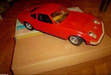 AMAZING VINTAGE GREEK RARE RED OPEL GT 1900  B/O LITHO BOX BY HELLAS 60s MIB