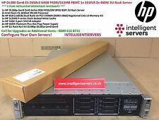 HP DL380p Gen8 E5-2650V2 64GB p420i / 512MB FBWC 1x 331FLR 2x 460W 2U RACK SERVER