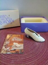 * Nib Just The Right Shoe By Raine 1999 I Do #25031