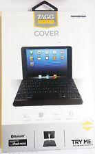 New ZAGG Keys Case Bluetooth Backlit Keyboard Cover for Ipad Mini Black - Retail