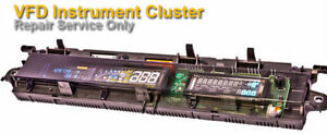 RENAULT SCENIC DIGITAL DASH - INSTRUMENT CLUSTER - CLOCKS REPAIR SERVICE