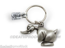 Convoy / Death Proof Rubber Duck Limited Edition Pewter Keychain Key Ring Duc