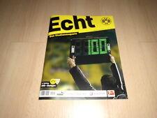 BORUSSIA DORTMUND@ BVB@Stadionmagazin ECHT@Heft 100 @ BVB - Stuttgart