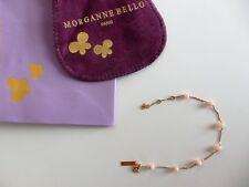 MORGANNE BELLO Bracelet perles OR Jaune 18 K NEUF