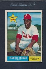 1961 Topps #502 Clarence Coleman Phillies VG/EX *1072