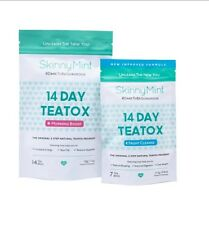 The SkinnyMint 14 Day Starter Teatox Natural Weight Loss, Body Cleanse