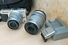 Olympus PEN mini E-PM2 compact digital camera w. 14-42mm, 40-150mm lenses