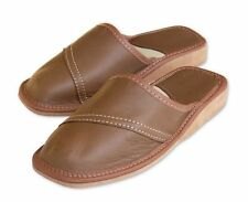 Unbranded Women's 100% Leather Slippers