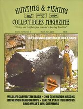 Hunting & Fishing Collectibles Magazine Volume 12 No 2 March-April 2012 BW