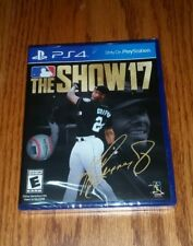 MLB: The Show 17 PS4 (Sony PlayStation 4, 2017) Brand New