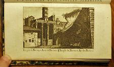 1807:ROMA/ROMAE, TEMPIO DI NERVA ED ARCO DE PANTANI...Inc/Rame.M.VASI.Etna