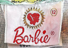 Rare Nm Vntg Barbie Print Girls Robe Sz 12 '64 Sears Catalog Sweet Dreams Bin!