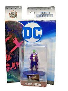 DC Comics Nano Metalfigs The Joker Suicide Squad 100% Die-Cast Metal Jada Toys