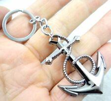 Fashion Creative Key Chain Ring Anchor Keyring Keychain Free Shipping